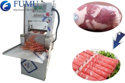 frozen meat cutter